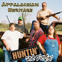 Appalachian Heritage Huntin' and Pickin' album cover